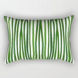 Bamboo Design Rectangular Pillow