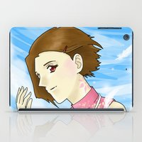 digimon iPad Cases featuring Mark of Light by AriesNamarie