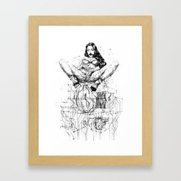 Passion & Tension Framed Art Print
