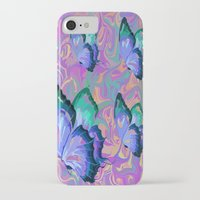 butterflies iPhone & iPod Cases featuring butterflies by Shea33