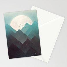 Ice Lands Stationery Cards