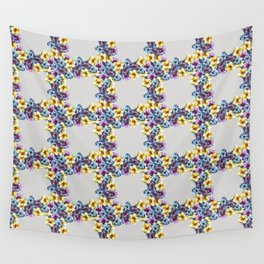 BALI0 BLUE pat.0 sm Wall Tapestry