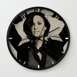 Demi #6 Wall Clock