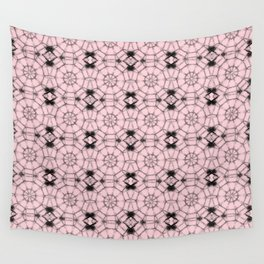 Blushing Bride Pinwheels Wall Tapestry