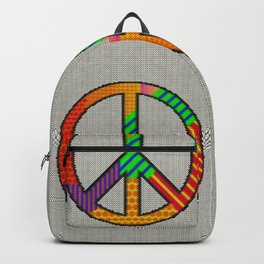 Peace – Knitting Style Backpack