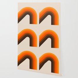 Golden Bending Bow Wallpaper
