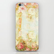 vintage roses and pastel tones iPhone & iPod Skin