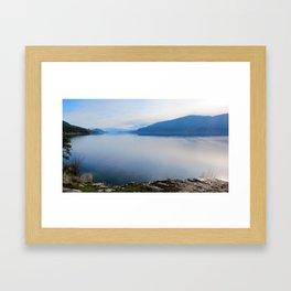 Kelowna BC Framed Art Print