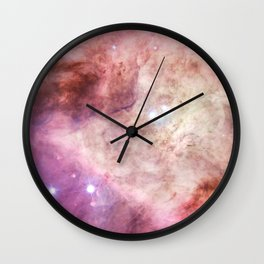 Orion Nebulas Thousands of Stars Wall Clock