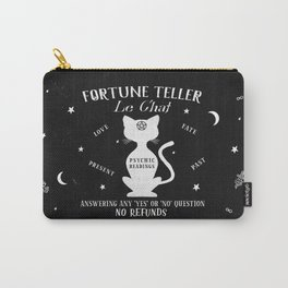 Fortune Teller Psychic Cat Carry-All Pouch