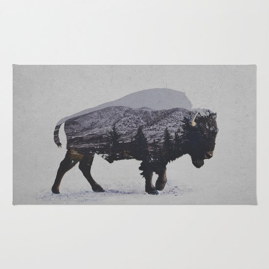 The American Bison Rug