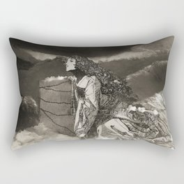 The creed of our loss Rectangular Pillow