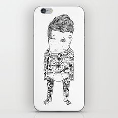 Jacky with tattoo. iPhone & iPod Skin
