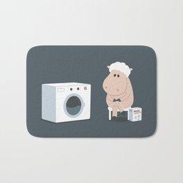 Wool wash Bath Mat