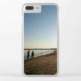 City Beach Clear iPhone Case
