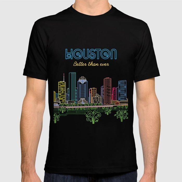Houston Better Than Ever Circuit T-shirt