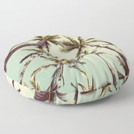 Palm Trees Sway Floor Pillow