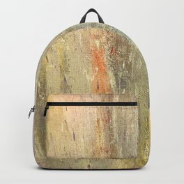 Streaks of Sunset Raining Down: Abstract Art Backpack