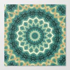 floral motif Canvas Print