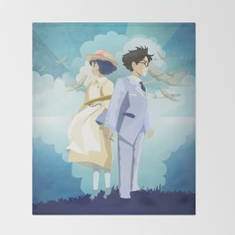 The Wind Rises  Throw Blanket