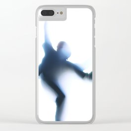 Shadow Dancing Clear iPhone Case
