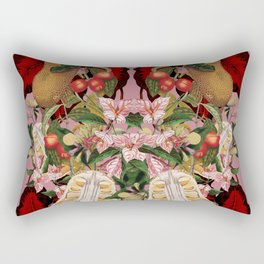 Red foliage Rectangular Pillow