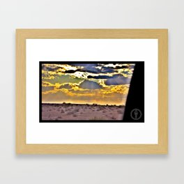 Desolación Natural Framed Art Print