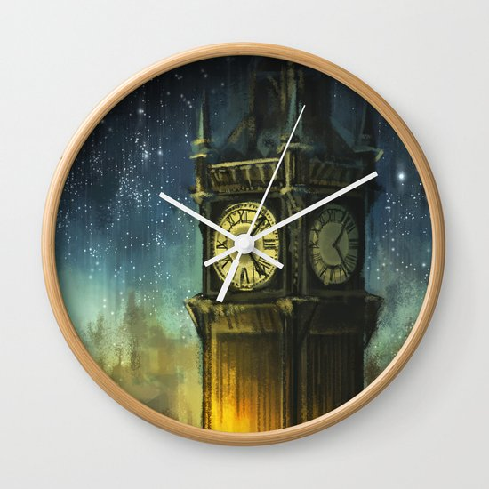 Something for the Nerves Wall Clock