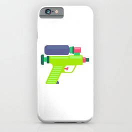 WATER GUN iPhone Case