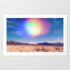 Surreal Surroundings Art Print