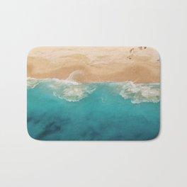 Ocean & Beach Aerial View Bath Mat