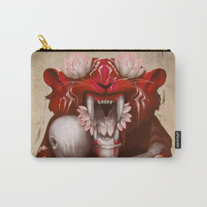The Lotus Tiger Carry-All Pouch