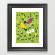 4 Seasons - Summer Framed Art Print