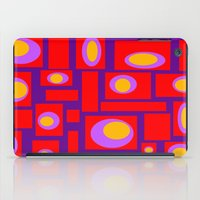 percy jackson iPad Cases featuring Mod Pattern Percy by Crash Pad Designs