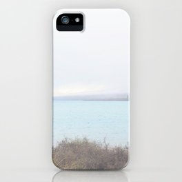 Blue Lake on a Cloudy Day IV iPhone Case