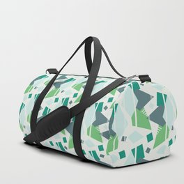 Fragmented Shapes Duffle Bag