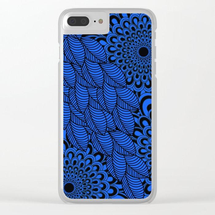 Pattern C 3 Clear iPhone Case