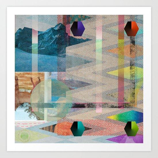 DIPSIE SERIES 001 / 03 Art Print
