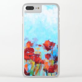 Garden of Delights Clear iPhone Case