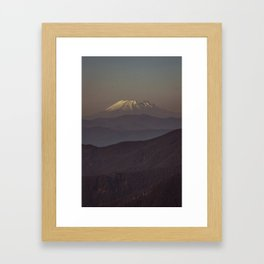 Mount Saint Helens Framed Art Print