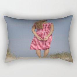Looking out Rectangular Pillow