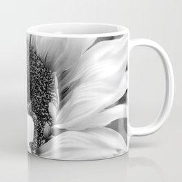 Black & White Sunflower Modern Cottage Chic Modern Farmhouse Art A486 Coffee Mug