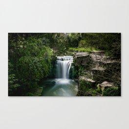 Jesmond Dene Waterfall, Newcastle Upon Tyne Canvas Print