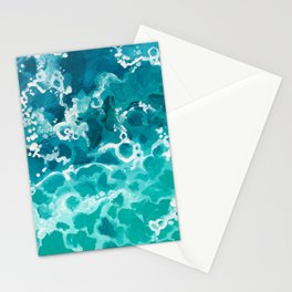 wild waters Stationery Cards