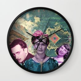 the three muskateers  Wall Clock