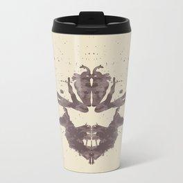 Hannibal Rorschach Test Metal Travel Mug