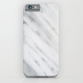 Carrara Italian Marble iPhone Case