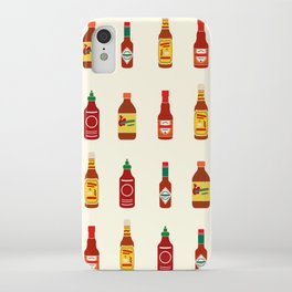 Hot Sauces iPhone Case
