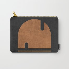 Solo Sailing - Contemporary Minimalist Abstract 1 Carry-All Pouch