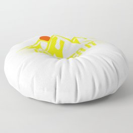 Its Just A Hill Get Over It bry Floor Pillow